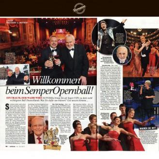 Sie werden an einem VIP-Tisch im großen Saal platziert und Dresdens Edel-Designer Uwe Herrmann wird sie vorher dem Anlass gemäß einkleiden - Hochzeitsmode Dresden - Uwe Herrmann