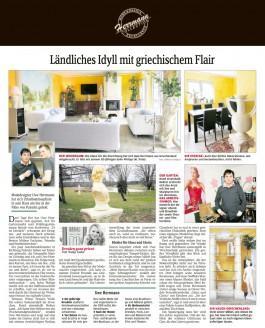 Viele seiner Möbel hat Uwe Herrmann selbst gebaut oder es nach eigenen Ideen anfertigen lassen - Hochzeitsmode Dresden - Uwe Herrmann