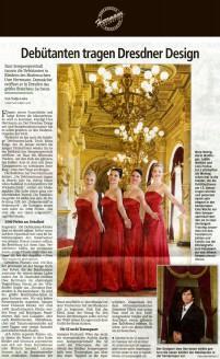 Geradezu Peanuts sind 150 Kleider gemessen an der Menge festlicher Roben, die der Brautmodenausstatter für seinen neuen Laden ordert - Hochzeitsmode Dresden - Uwe Herrmann
