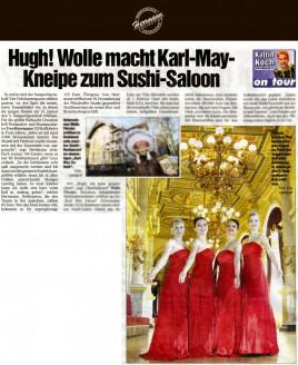 Für die größte Ballnacht Dresdens ließ Festmoden- und Brautausstatter Uwe Herrmann 150 Ballkleider in Paris nähen - Hochzeitsmode Dresden - Uwe Herrmann