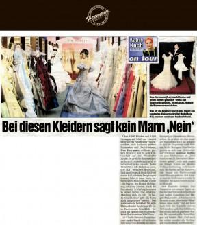 über 4000 Kleider und 1000 Corsagen auf 1600 qm – das ist nicht nur ein Paradies für Frauen, sondern auch Sachsens größtes Festmoden- und Hochzeitshaus - Hochzeitsmode Dresden - Uwe Herrmann