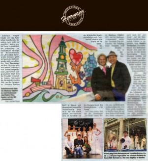 Auf Frankreichs wichtigster Hochzeitsmesse, der Bridal Fair Paris, wurde Sachsens größter Spezialist für Brautmoden und Abendkleider, Uwe Herrmann, mit dem Pokal des weltweit besten Verkäufers von Festmodenproduzent The Group ausgezeichnet - Hochzeitsmode Dresden - Uwe Herrmann
