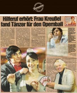 Die exklusiv für die Debütanten entworfene Krone - Hochzeitsmode Dresden - Uwe Herrmann