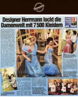 Uwe Herrmann lockt die Damenwelt mit 7500 Kleidern - Hochzeitsmode Dresden - Uwe Herrmann