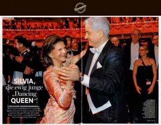 Dresdner Semperopernball 2014 – Silvia die ewig junge Dancing Queen - Hochzeitsmode Dresden - Uwe Herrmann