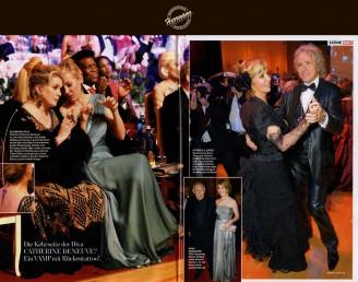 Dresdner Semperopernball 2014 – Thea und Thomas Gottschalk beim Walzer - Hochzeitsmode Dresden - Uwe Herrmann