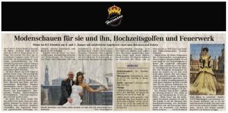 Modedesigner Uwe Herrmann nimmt teil mit sorbischem Brautkleid - Hochzeitsmode Dresden - Uwe Herrmann