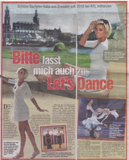 Katja will zu Let's Dance - Hochzeitsmode Dresden - Uwe Herrmann